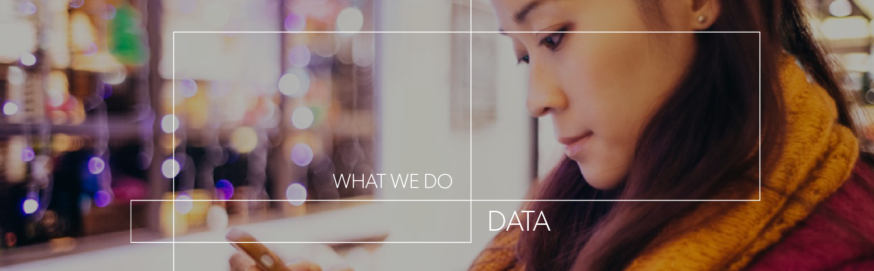 WHAT WE DO DATA