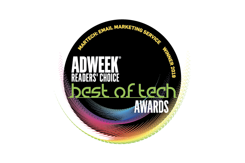 Adweek Readers' Choice Best of Tech award logo